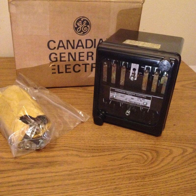 GENERAL ELECTRIC HFA14E187  125VDC  RELAY