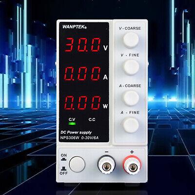 Digital Lab Dc Power Supply Variable Precision Adjustable 0-30v0-10a Ac 110v