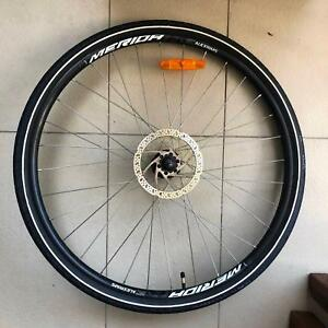 Alexrims Hybrid 700c Wheelset Broken Spoke Bicycle Parts And