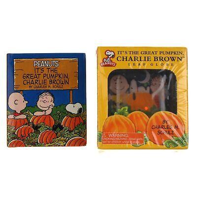 Peanuts Charlie Brown Halloween (Peanuts It's The Great Pumpkin Charlie Brown Leaf Globe Halloween Mini Book)
