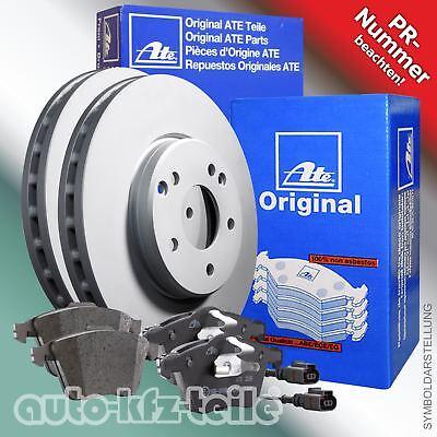 2x ATE Bremsscheiben hinten Voll 282mm Für VOLKSWAGEN TOURAN CC 24.0112-0169.1