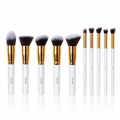 Jessup Hot Kabuki Makeup Cosmetic Brush Set Pro Professional Face Eye Tool Kit