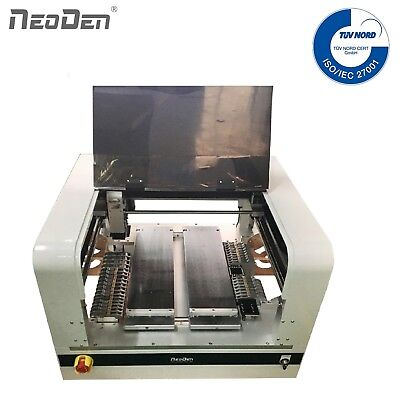 Neoden4 Benchtop Smd Pick And Place Machine Dual Camera 33 Feeders Fpga