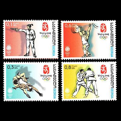 Georgia 2008 - Olympic Games - Beijing, China - Sc 441/4 MNH
