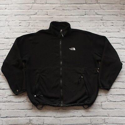 Vintage North Face Polar Fleece Liner Jacket Size XXL Black Polar-fleece Liner