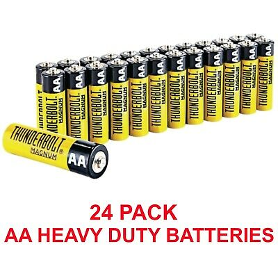 Thunderbolt 61675 value pack 24 AA batteries