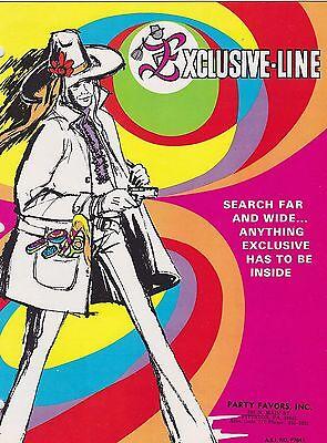 1970s VINTAGE CATALOG #1122 - (FANTASTIC) EXCLUSIVE-LINE PARTY SUPPLIES](Party Supplies Catalog)