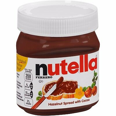 - NEW NUTELLA HAZELNUT SPREAD WITH COCOA 13OZ FREE WORLDWIDE SHIPPING
