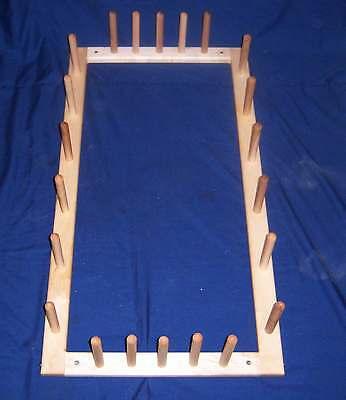 11 Yard Warping Board  38 X 20 For  Inkle or  Rigid Heddle or Card  Loom etc ()