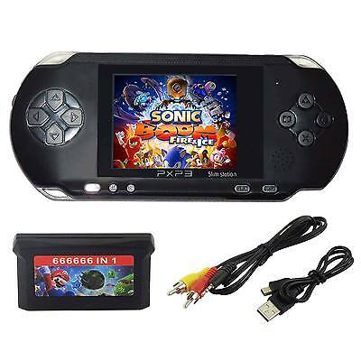 PXP3 Game Console Handheld Portable 16 Bit Retro Video 150+ Games Gift