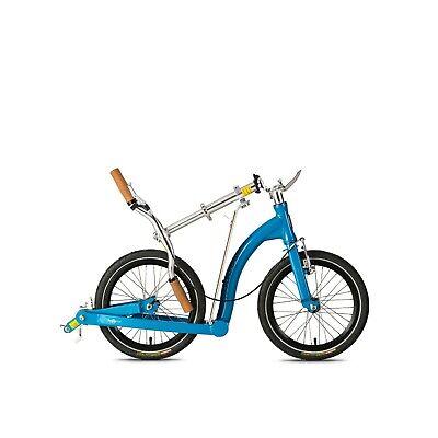 Folding Adult Scooter | SwiftyONE MK3 | Swifty Scooters | Hero Blue