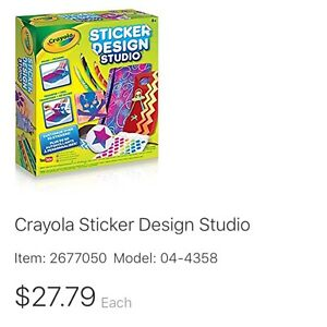 Crayola Sticker Design Studio, Sticker Maker