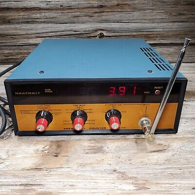 Vintage Heathkit Im-4110 Digital Frequency Counter Tested Works