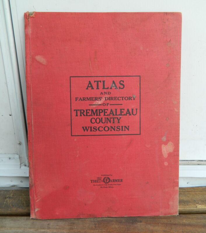 1930 TREMPEALEAU COUNTY, WISCONSIN ATLAS & FARMERS