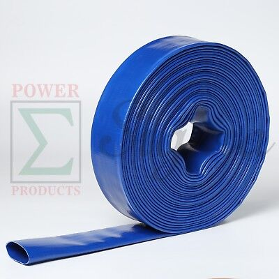 Heavy Duty 1 X 300 Ft Feet Pvc Lay Flat Agricultural Water Pump Discharge Hose