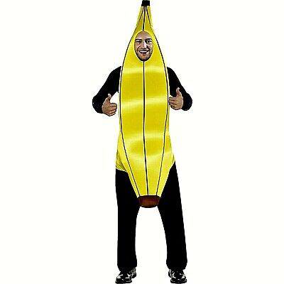 Mens' Halloween Cosplay Banana Costume  NWT - Banana Man Costume