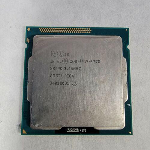 Intel Core i7-3770 3.40GHz LGA1155 77W Quad Cores 8MB 64-Bit Processor SR0PK
