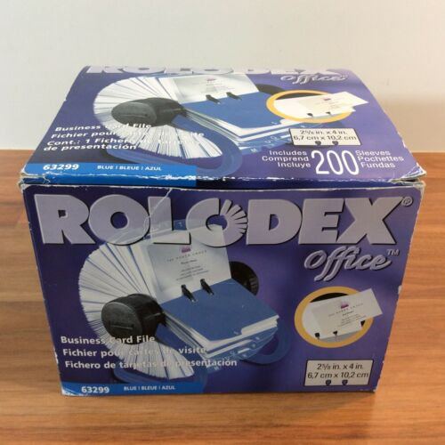 Sanford Brands Rolodex Rotary Business Card File - 63299