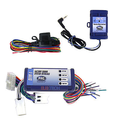 Radio Replacement Interface & Steering Retain SWC for Nissan/Infinity w/OEM Bose
