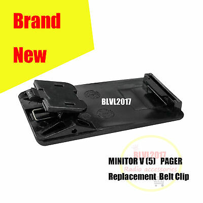 0180305k51 Replacement Belt Clip For Motorola Minitor V5 Two-tone Voice Pager