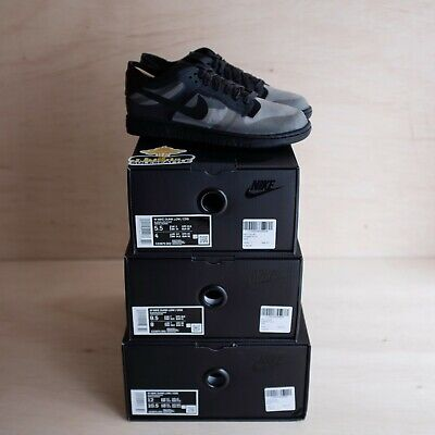 Nike Dunk Low Comme des Garcons Black (W) Size 12W, DS BRAND NEW