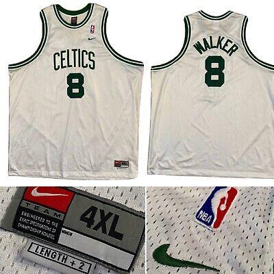 Nike Team Vintage NBA Celtics Antoine Walker Champs Basketball Jersey Size 60 4X