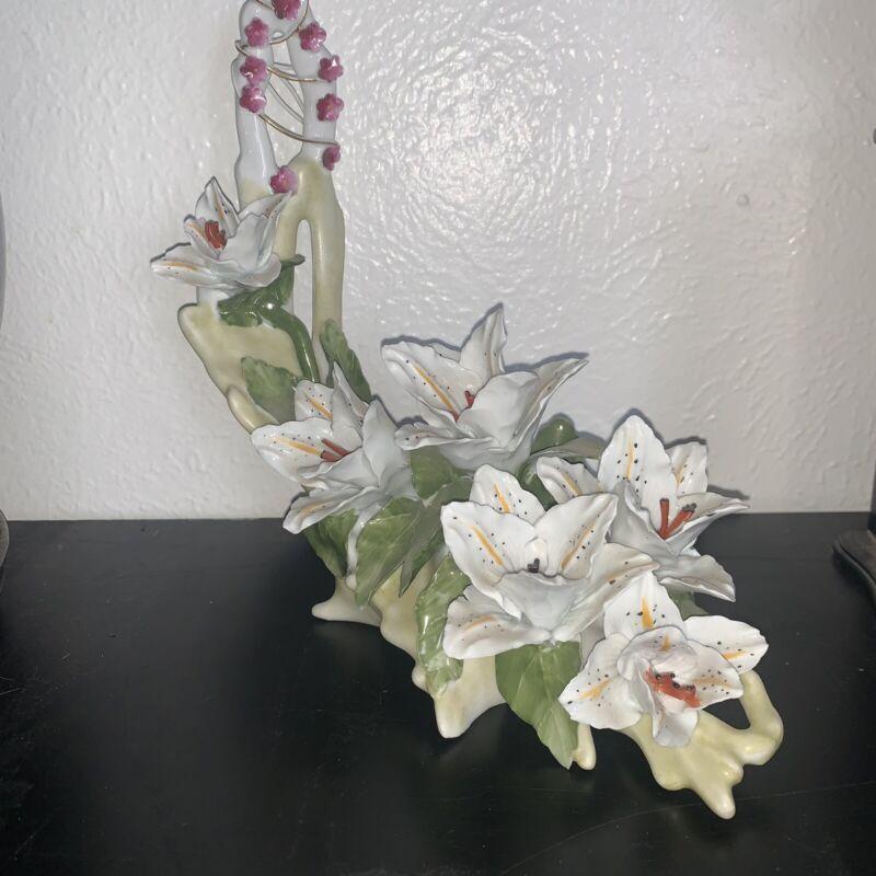 cluj napoca floral arrangement porcelain satman g