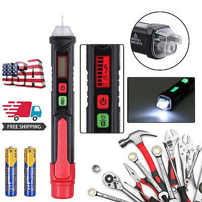 12-1000v Ncv Sensitivity Electrical Tester Pen Non-contact Ac Voltage Detector