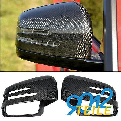 für Mercedes Benz W463 W166 X164 Carbon Rückspiegel Abdeckung Außenspiegelkappe