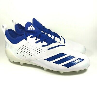 Adidas Adizero 5-Star 7.0 Blue White Low Football Cleats Mens DA9548 Size 12