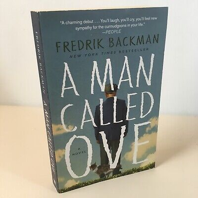 A Man Called Ove by Fredrik Backman ***Free Shipping for Each Added Trade PB