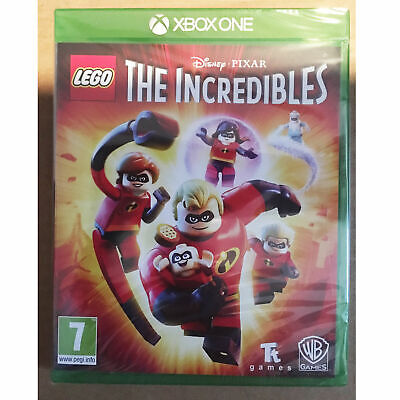 LEGO The Incredibles XBOX ONE New and Sealed
