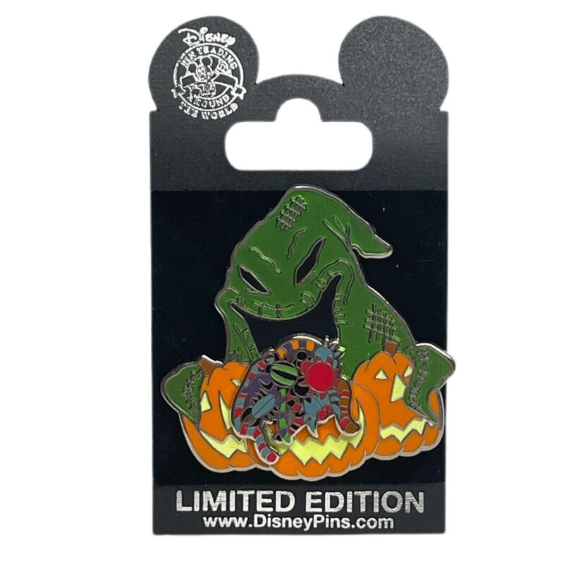 DLR Pin 49979 Nightmare Before Christmas Oogie Boogie With Pumpkins LE 500 2006