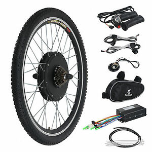 Electric Bicycle Ebike 26-Inch Conversion Kit Hub Motor Rear Wheel 36-Volt  500-Watt