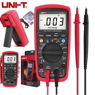 Uni-t Ut139a True Rms Lcd Digital Auto Range Multimeter Volt Acdc Tester Meter