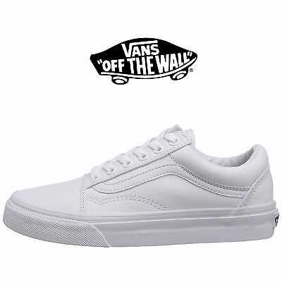 Mens Vans Old Skool Fashion Sneaker Core Classic White ...