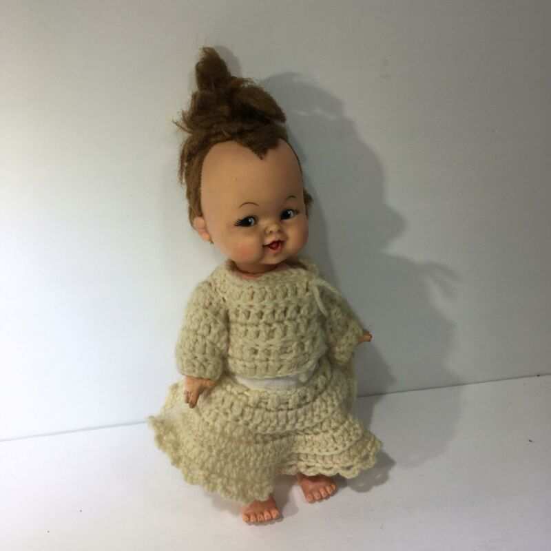 Hannah Barbera Ideal Pebbles Flintstones 11 1/2 Baby Doll