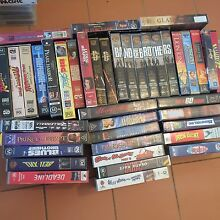 41x VHS video bundle Maryland Newcastle Area Preview