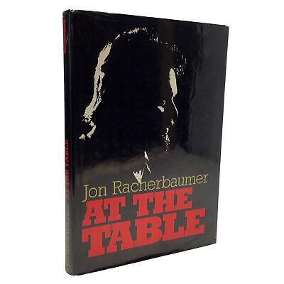 1984 1st Edition Jon Racherbaumer At The Table CARD MAGIC CLOSE UP MAGIC