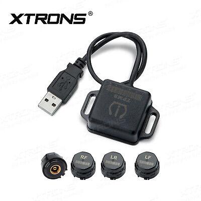 Druck-system (XTRONS TPMS06 Reifendruckkontrollsystem TPMS 4 Externe Sensoren RDKS Werkzeug)