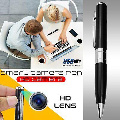 Wireless Hidden HD Mini Camera Pen Motion Detector Spy Cam Video Recorder AUS