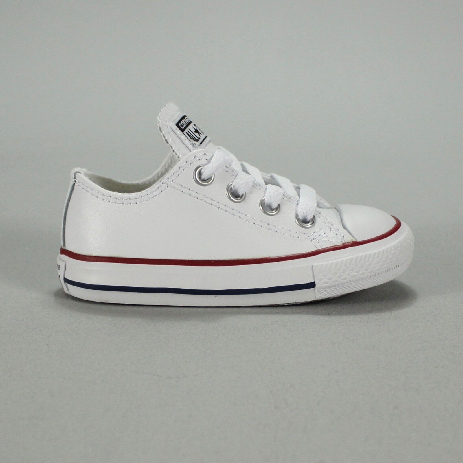 ec169698238802 Details about Converse Toddlers Infants Trainer Leather White Size  2