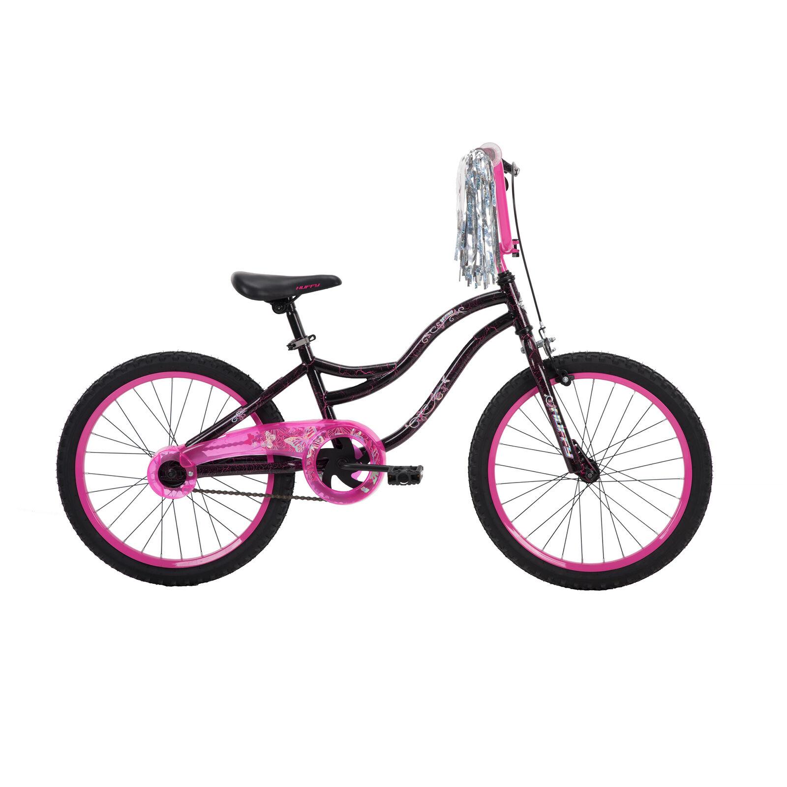 Single-Speed Huffy Kids Bike 20-inch Bicycle for Girls