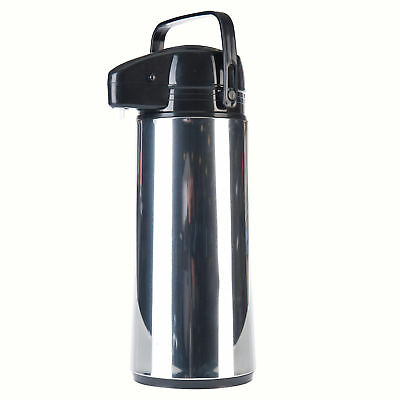 Airpot Edelstahl 1,9 Liter rostfrei Kaffeekanne Pumpkanne Isolierkanne