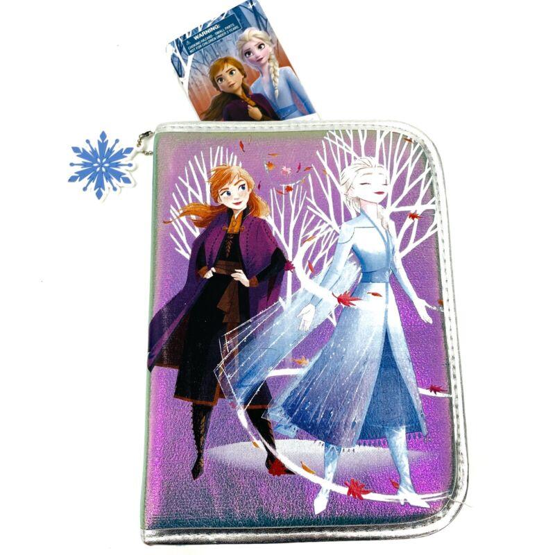 Disney Park Frozen 2 Zip-Up Stationary Art Kit Elsa Anna School Supplies Olaf