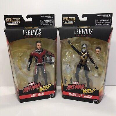 Marvel Legends Ant-man & the Wasp Cull Obsidian BAF wave MCU 2 figure lot No BAF