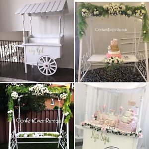Candy cart, Sweet Cart, Cake Swing, Cake stand