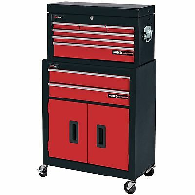 Draper 80927 Two Drawer Roller Cabinet And Six Drawer Tool Storage Chest New