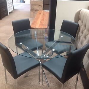 Galio glass dining suite Joondalup Joondalup Area Preview