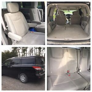 2012 Nissan Quest S, black